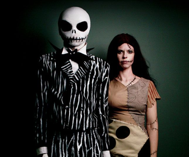 100 Creative DIY Couples Costumes for Halloween via Brit + Co