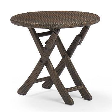 Round Cafe Folding Table