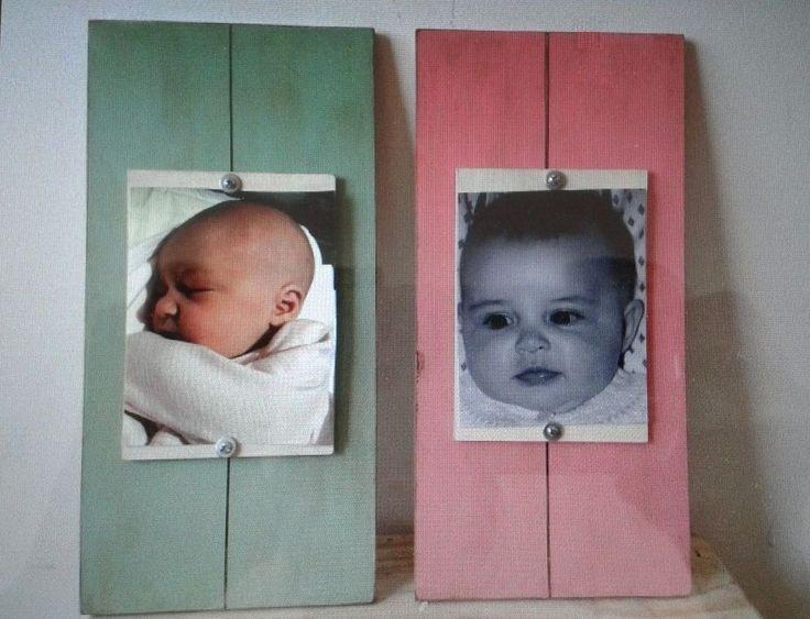 Marco de fotos Madera - Comprar en Baby Garage