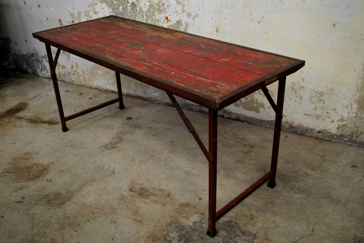 Vintage French Brocante Table - Vintage Industries
