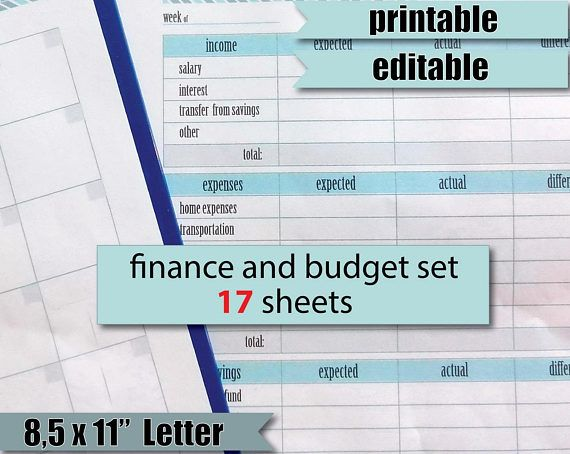 The 25+ best Monthly expense sheet ideas on Pinterest Monthly - free printable expense sheets