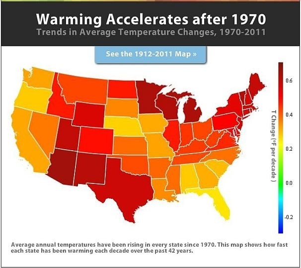 Best Climate Images On Pinterest Climate Change Global - Us map after global warming