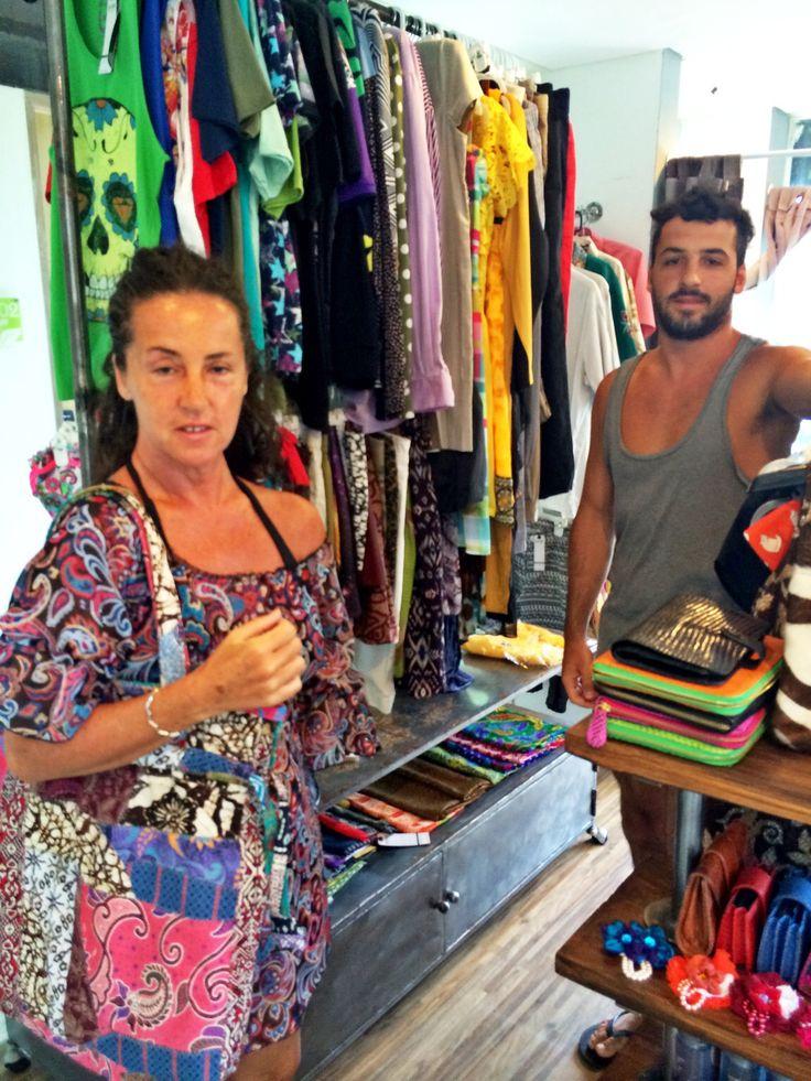 Batik tote bag for italy  Yeay