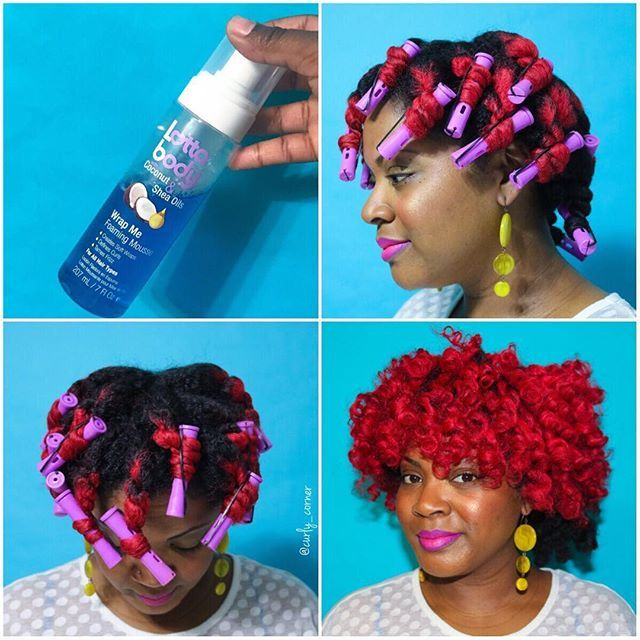 Hair Pictorial Tuesday Two Strand Twist Out With Perm Rods Completed On Dry Hair Using Lottabody W Natural Hair Styles Natural Hair Diy Two Strand Twist Out