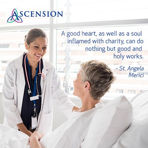 St. Angela Merici reminds us of the power of a good heart and a soul filled with charity. #MissionMonday #WeAreAscension