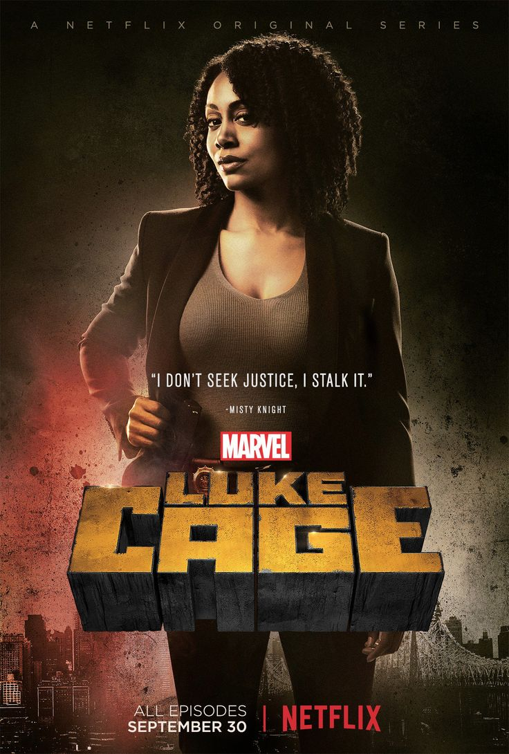 New LUKE CAGE Character Posters For Misty Knight & Claire Temple Promise…