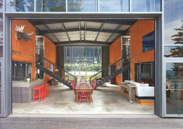 17 best images about home shipping container on for U shaped container home