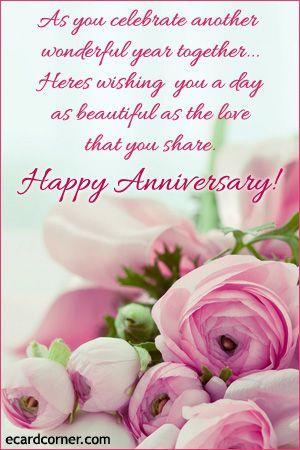 Wedding Anniversary Ecard