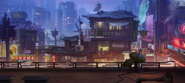 镇魂街手游, Lin —Art vision studio on ArtStation at https://www.artstation.com/artwork/5dA3z