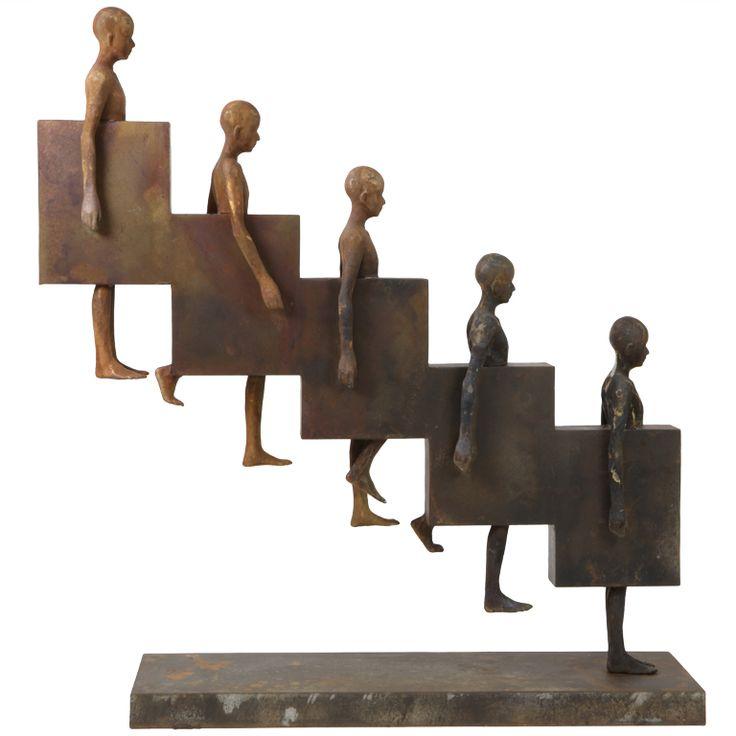 "Jesus Curia Perez Sculpture: ""Downstairs""  Spain  2012"