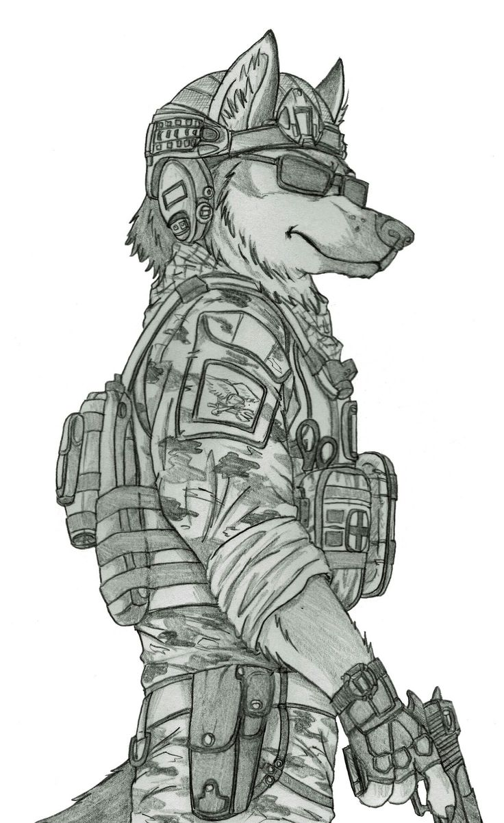 Reporting for duty!