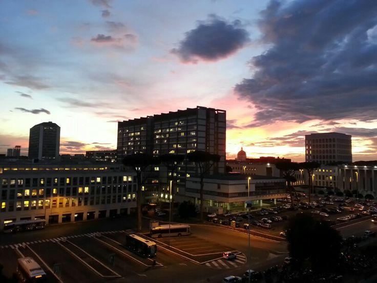Panorama dalla finestra dell'ufficio ^_^