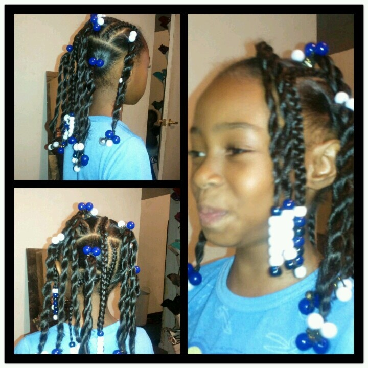Platts Beads Ponytails Amp Ballies Hairstyles For Little
