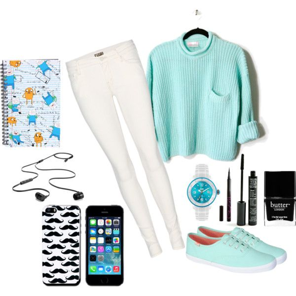 """Back To School"" by maria-stypayhorlikson-1d on Polyvore – Fashion – white jeans"