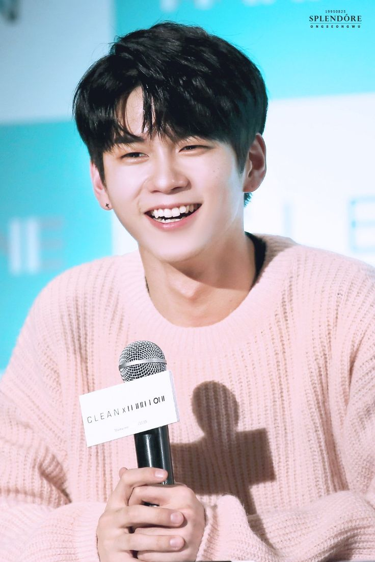 171206 Wanna One At the Clean fasign #Ong
