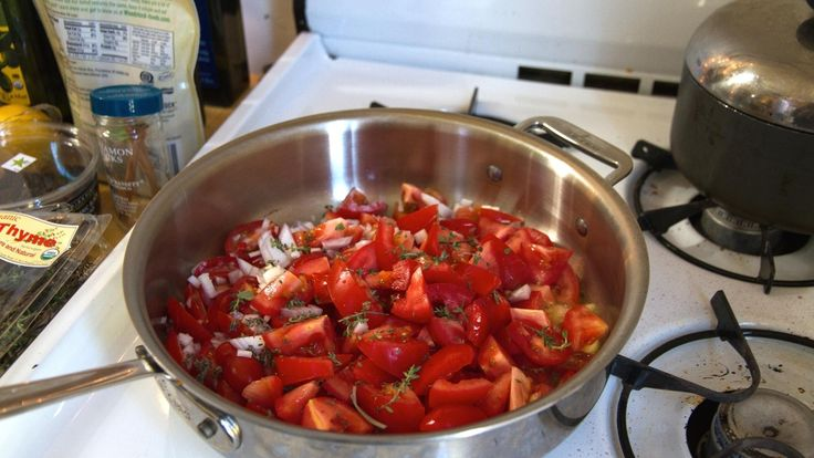Gnocchit tomaattikastikkeessa a'la Hans Välimäki