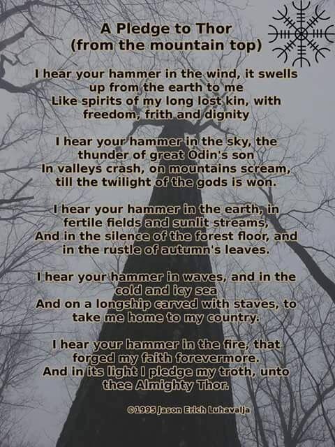 Pledge to Thor