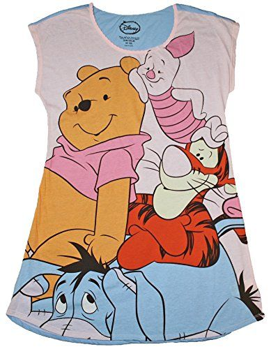 Winnie the Pooh Women's Nightgown Sleep Shirt  Winnie the Pooh Women's Nightgown Sleep Shirt Women will love this Disney Winnie the Pooh night shirt. It is lightweight and comfortable and has Winnie the Pooh, Piglet, Eeyore, and Tigger graphics.  http://www.allsleepwear.com/winnie-the-pooh-womens-nightgown-sleep-shirt/