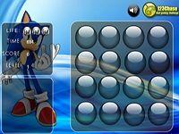 Шарики памяти Соника это интересная, увлекательная игра-головоломка про мультяшного ёжика Соника, разовьёт у детей внимательность, наблюдательность и крепкую память.
