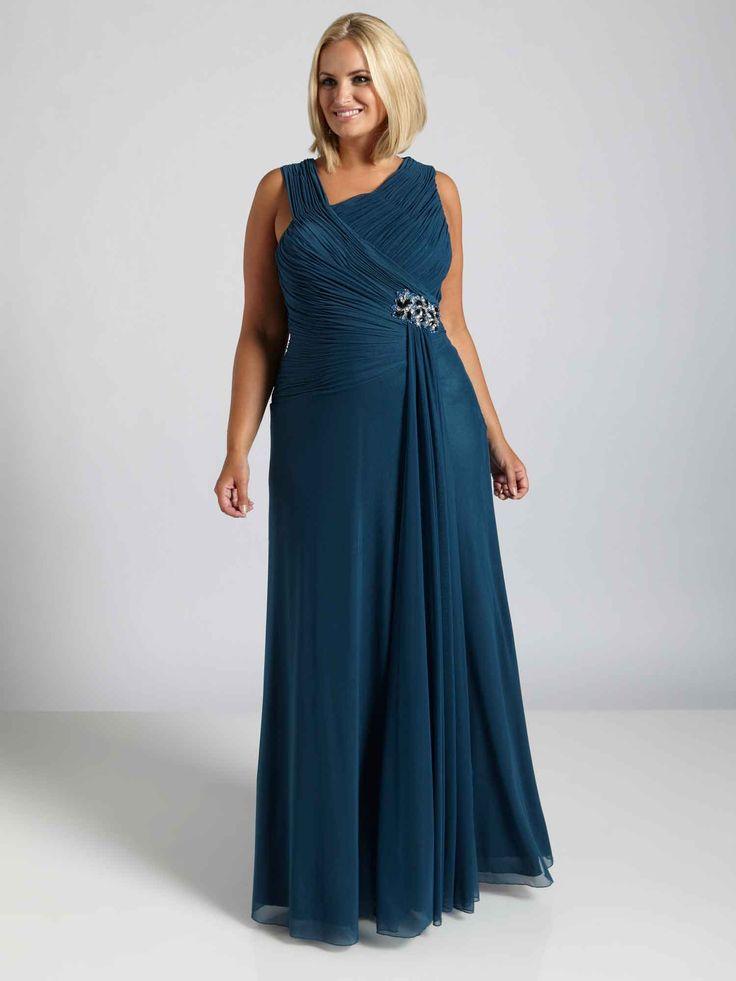 Plus Size Evening Dress