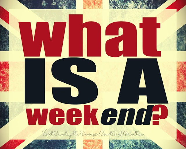 """what IS a week - END?""- Dowager Countess (Downton Abbey). I'm sure you graduate students have wondered as well, but in a different way! Tell us how you spent your weekend at facebook.com/ImmunoChemistryTechnologies or twitter.com/Immunochemistry - in the lab or not!"