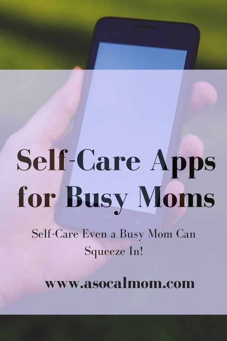 Busy moms spend their entire day caring for the needs of others. We sometimes forget to take care of our own needs. These apps are great reminders for moms to practice self-care.
