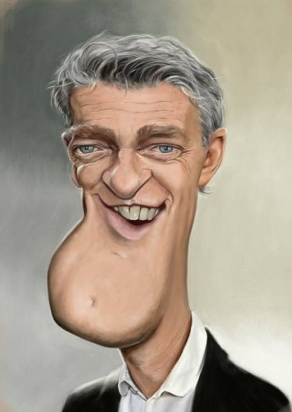 Caricatures of Famous People photo