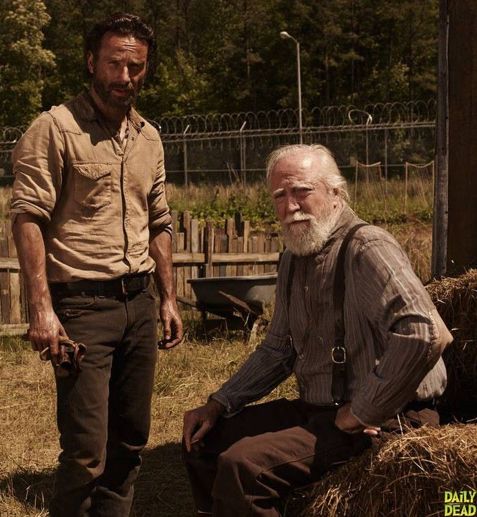 The Walking Dead Season 4 - Rick and Hershel