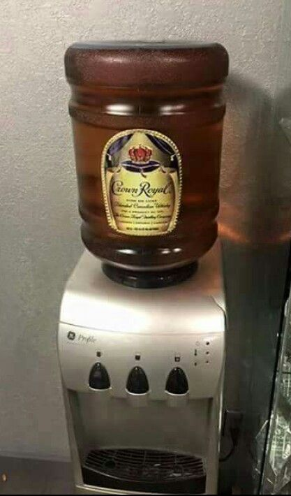 Crown Royal Dispenser Storage Office Water Cooler