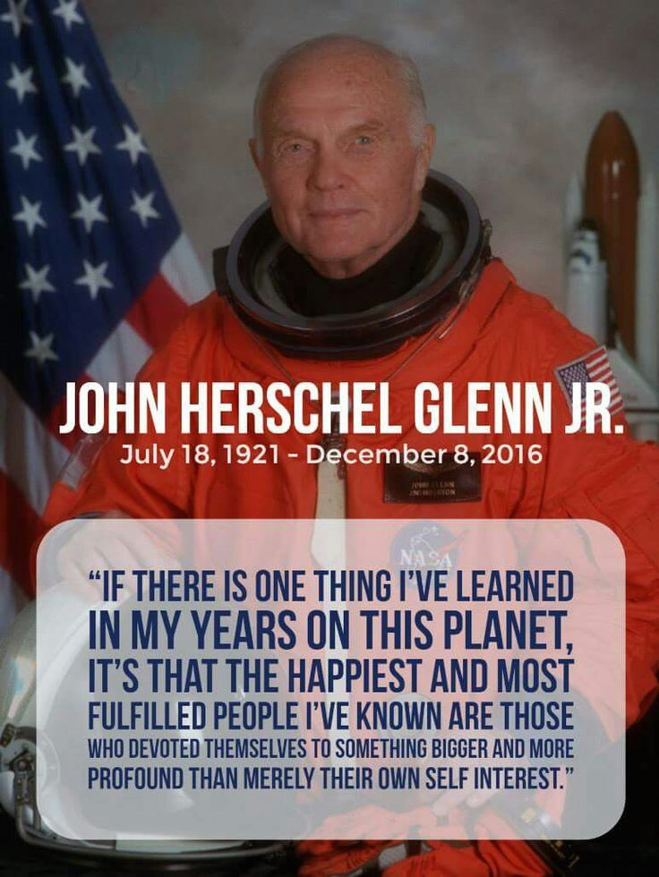 john glenn astronaut quotes - photo #8