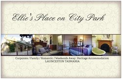 Visiting Tasmania? Stay in style at Ellie's Place on City Park