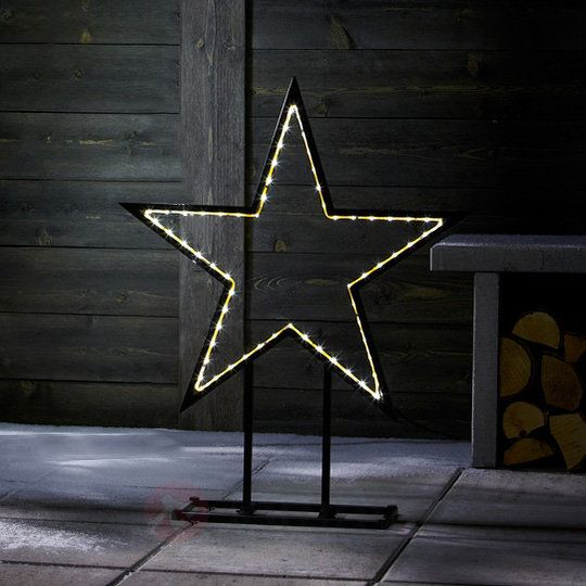 Lampa deko LED Stolt Gwiazda 80 cm 6507321