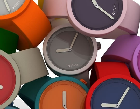 Moodit watches - change the strap and change the face to any colour
