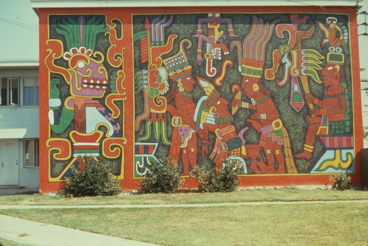 At the Estrada Courts housing project in Boyle Heights, the walls are time capsules of the Chicano art movement. Beginning in the 1960s, Mexican-American artists began emblazoning drab cinder-block and stucco walls with brightly colored murals, which represented the dreams, aspirations and cultural pride of a population that might have otherwise felt trapped in their environs.            In...