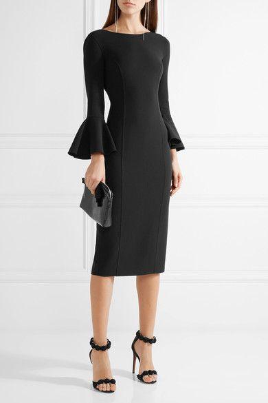 Michael Kors Collection - Stretch-wool Dress - Black - US