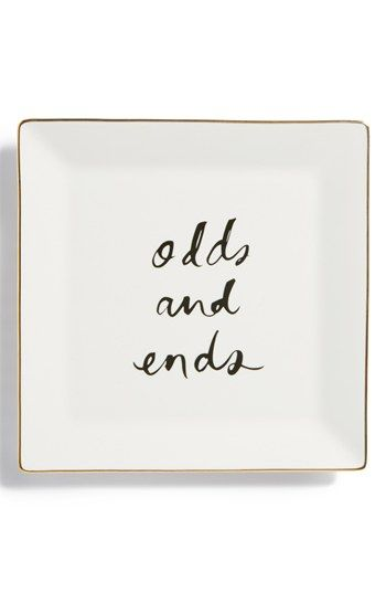 << kate spade new york odds + ends tray >>