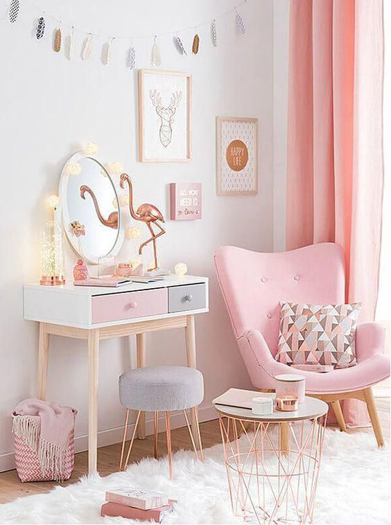 Copper And Blush Home Decor Ideas Pretty In Pink Bedroom Palette Homedecorinteriorsbathroom