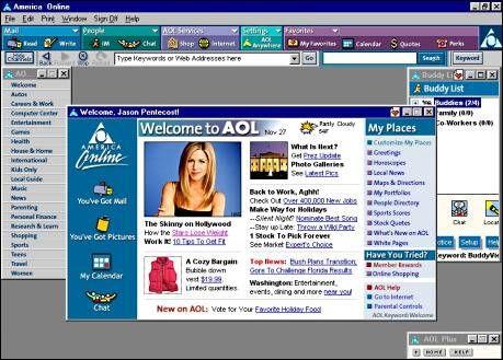 AOL-Startseite