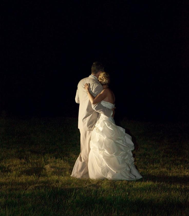 The Wedding Coupleslow Dancingswaying To Music