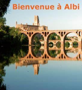 En visite à Albi aujourd'hui et demain...