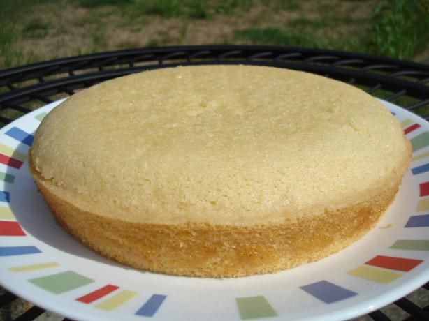 Vanilla Sponge Cake- Gluten, Dairy, Nut and Egg Free. Made good cupcakes - could use butter if no dairy allergy.