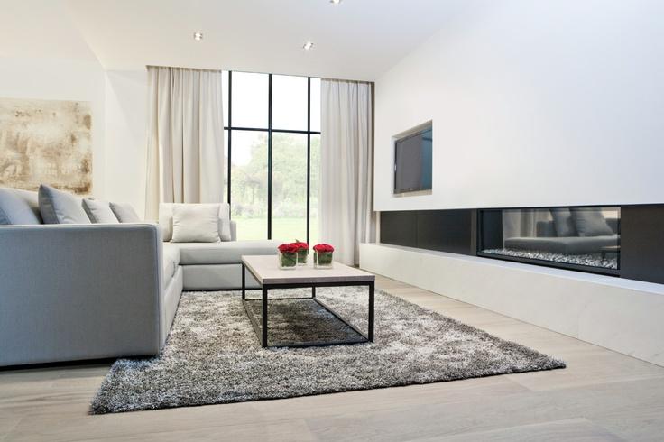 Interieur: badkamer, haardwand, dressing, slaapkamer - TRYBOU ...