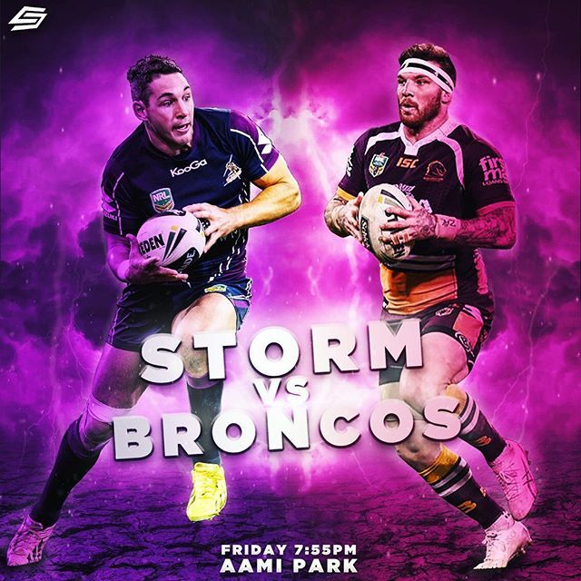 It's gonna be a great game tonight with the Brisbane Broncos versing the Melbourne Storm at AAMI Park. Who do you guys reckon will win? I have Broncos by 4. @b1slater @joshmcguire90 @brisbanebroncos @melbstormrlc @aamipark @nrl #bronxnation #storm #nrl #infographic #graphicdesign #graphic #design #sportsart