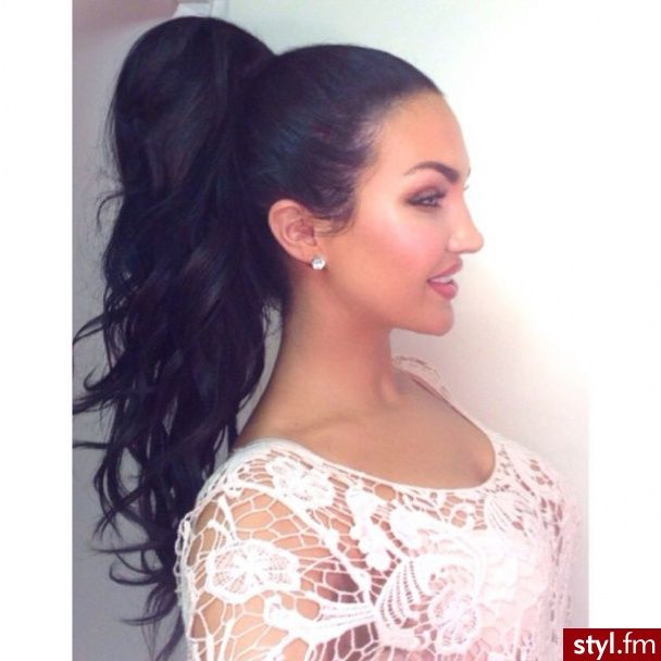 Pleasant 1000 Ideas About Curly Ponytail Hairstyles On Pinterest Curly Short Hairstyles For Black Women Fulllsitofus