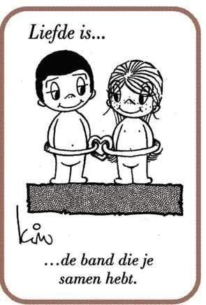 Liefde is...de band die je samen hebt.