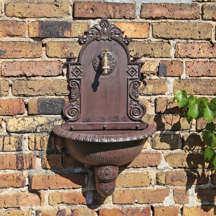 CLGarden Wandbrunnen WB1 Garten Handwaschbecken Wandbecken Außenwaschbecken   eBay