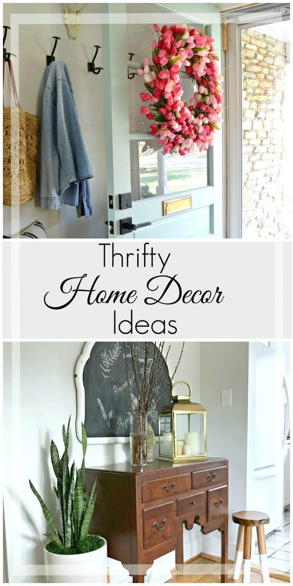 Our Top 5 Thrifty Decor Projects Cheap Home Decor Home Decor