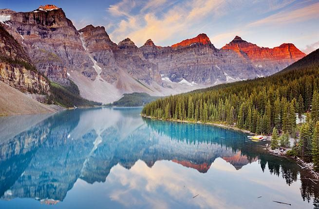 To celebrate its 150th birthday, Canada is offering free entry to national parks in 2017.