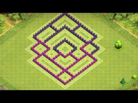 TH7 Base Defense ● Clash of Clans Town Hall 7 Base ● CoC TH7 Base Design Layout (Android Gameplay) - YouTube