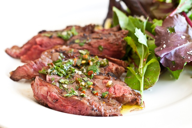 Skirt Steak with Chimichurri Sauce | Yummy main dishes | Pinterest
